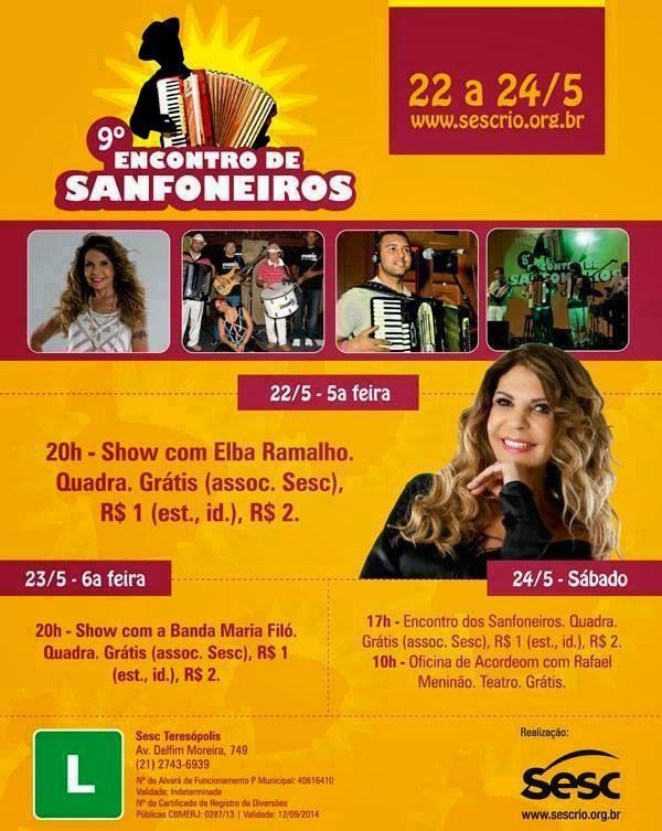 9º Encontro de Sanfoneiros em Teresópolis- de 22 à 24/05/14