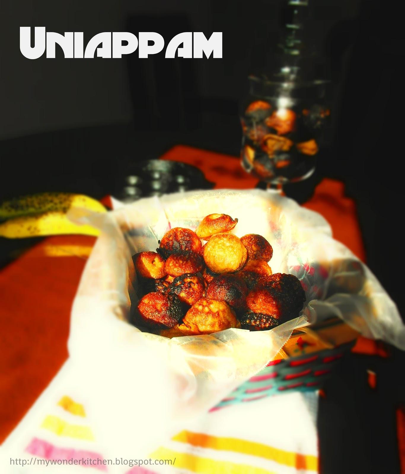 Kerala Uniappam recipe