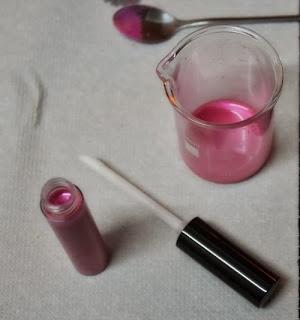 Receta lipgloss casero