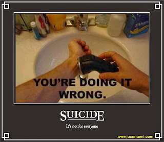Suicide- You're doing it wrong