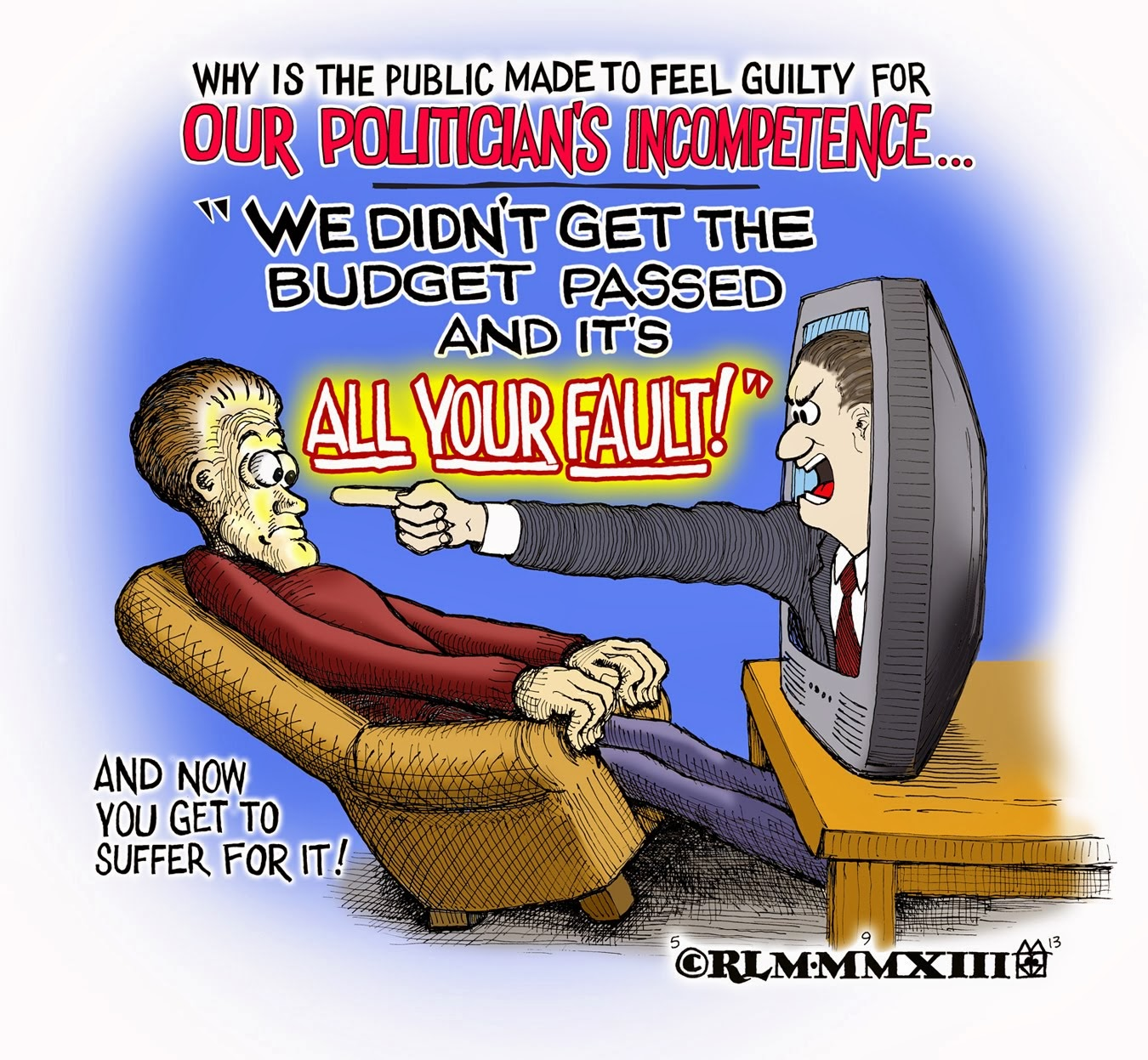 IT'S YOUR FAULT !!