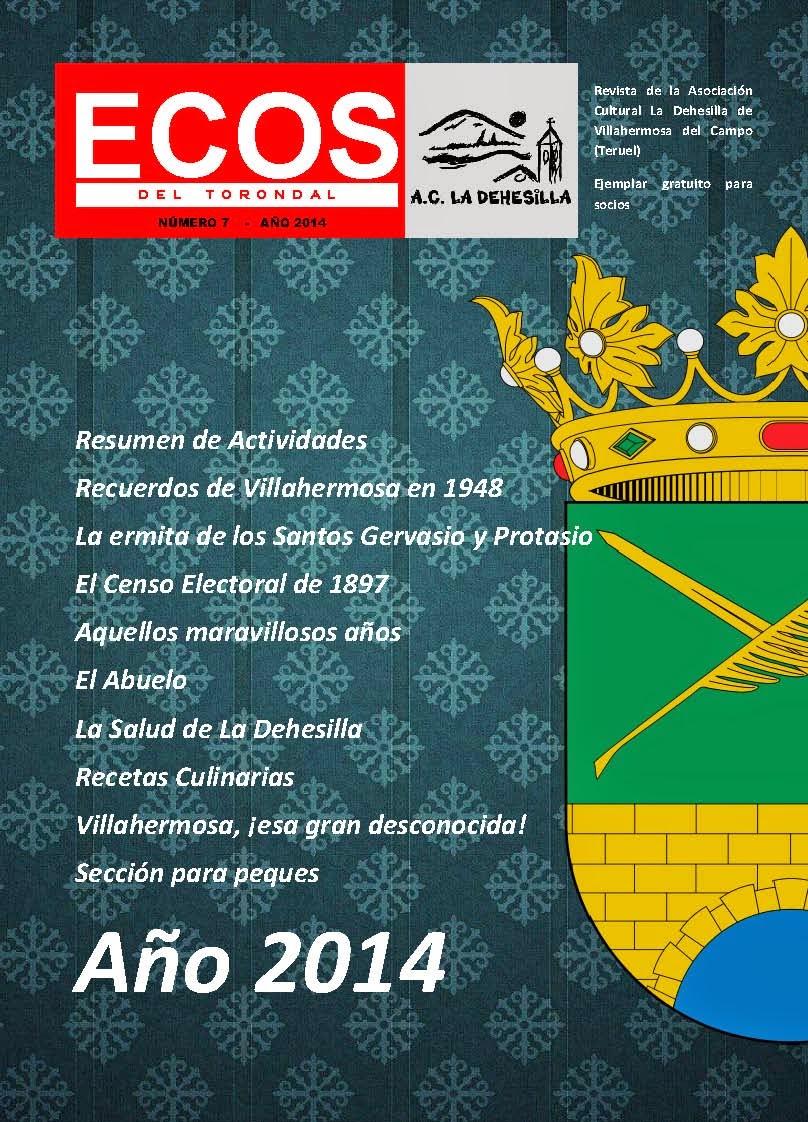 Revista Ecos del Torondal 2014