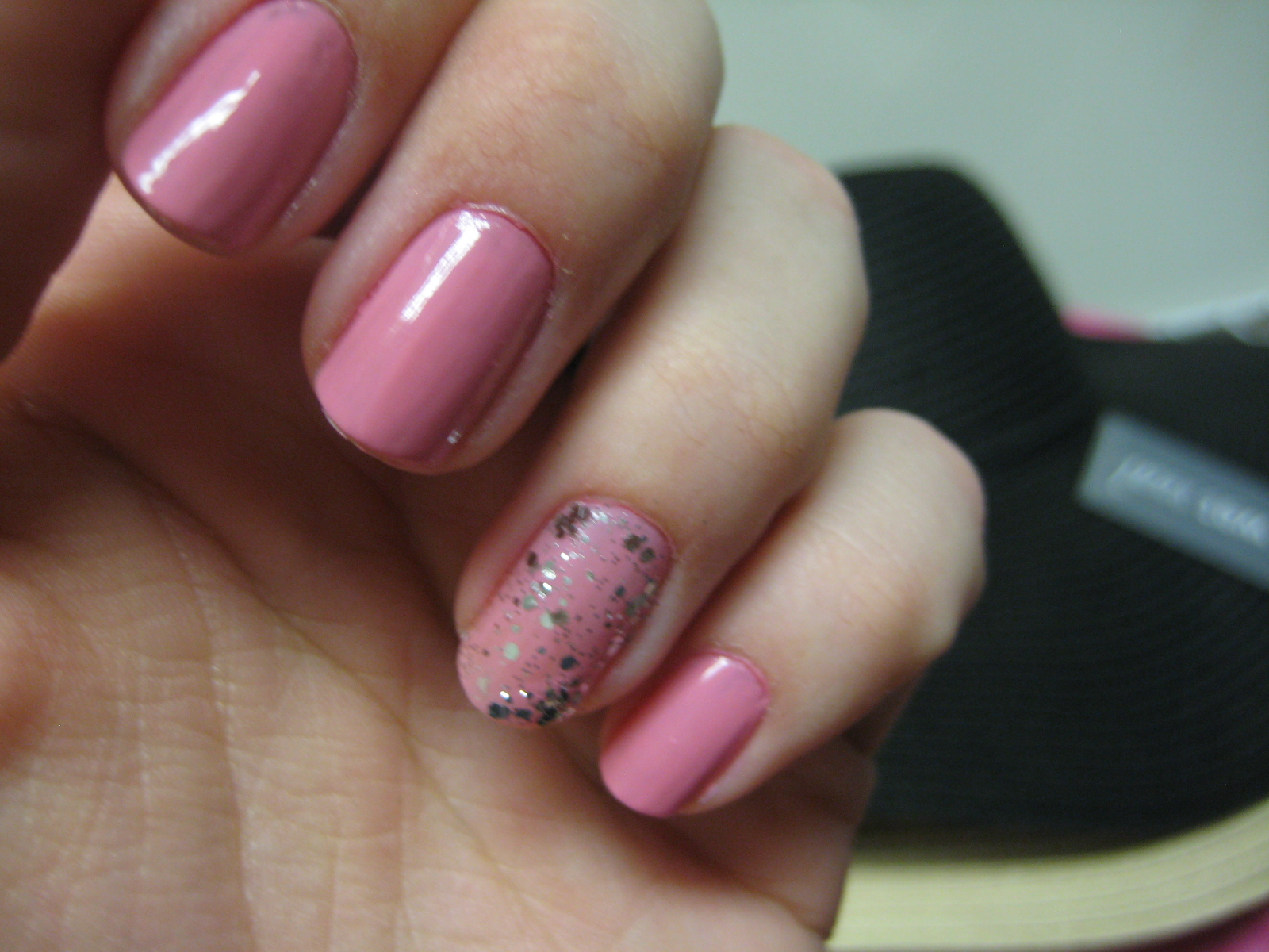 Pink Glam: Essie flawless and luxe