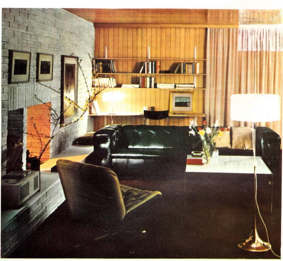 El dise o interior interiores de los a os 60 for Studio 84 diseno de interiores