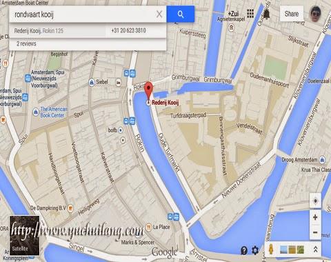 Peta Rokin Amsterdam