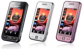 Samsung S5230 with touch screen and Gesture Lock