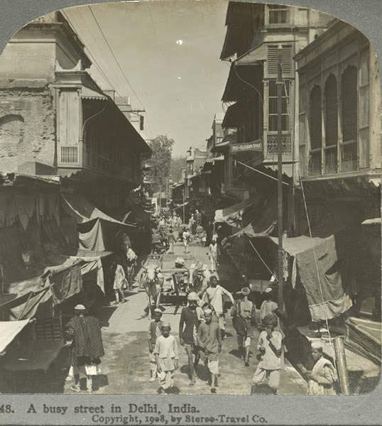 நூறு ஆண்டுகளுக்கு முன்பு ! Delhi+St.+1908