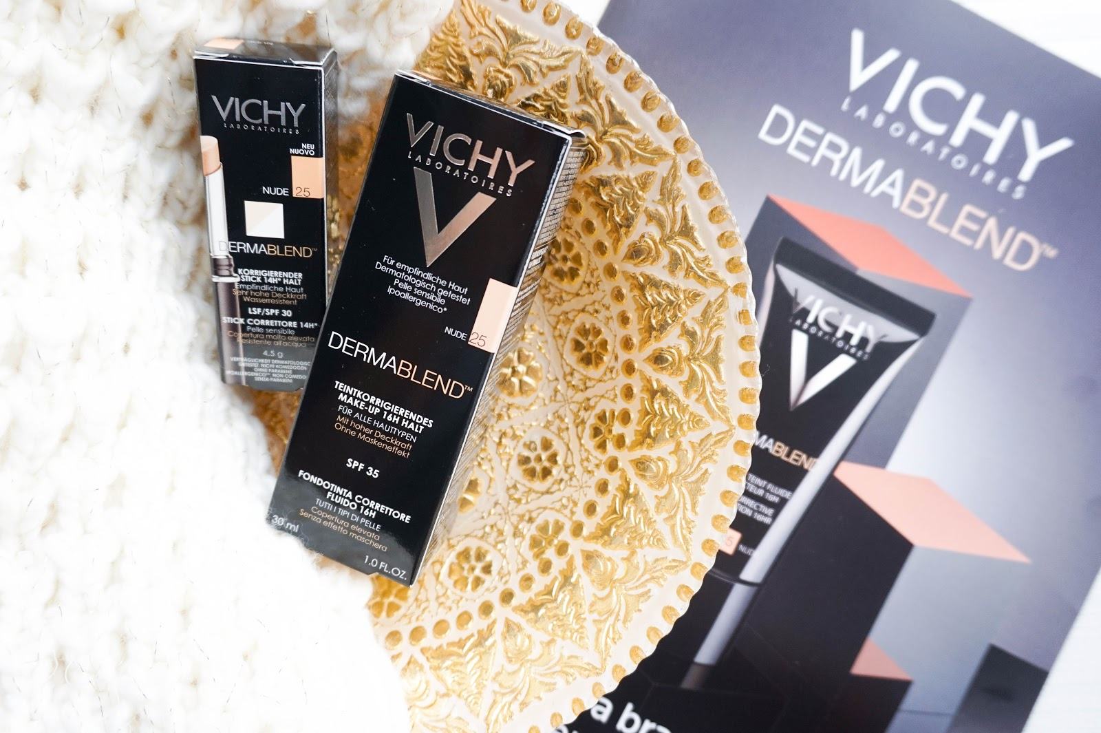 Flawless Skin with Vichy Dermablend