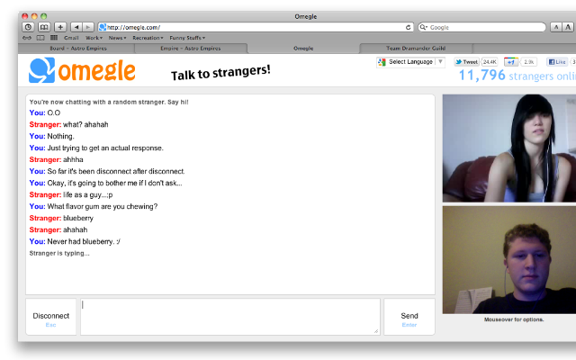 www omegle cam