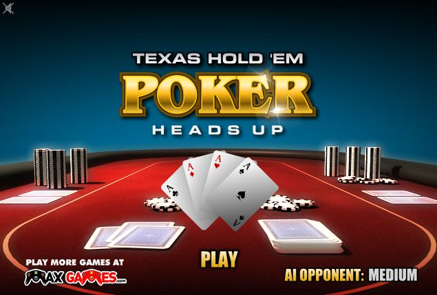 Texas holdem rules blinds heads up