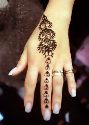 Simple Beautiful New Mehndi Design