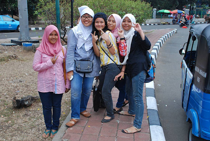 Jóvenes indonesias