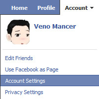 Facebook End Session - account setting