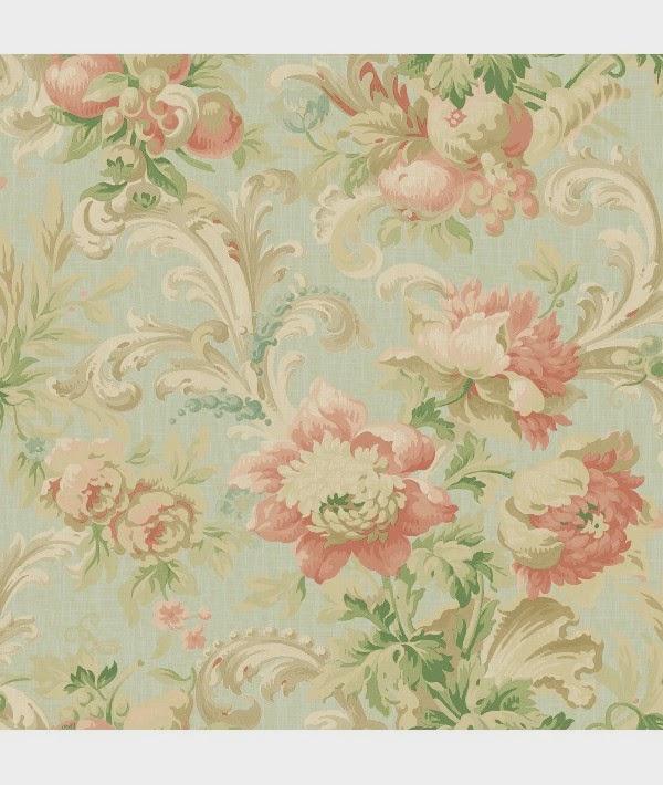 por cierto te imaginas a este bello papel de estampado floral combinado con un mueble de lneas modernas fantstico