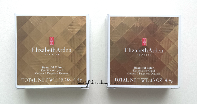beautiful color eye shadow quad elizabeth arden packaging