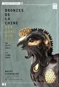 affiche bronzes de la chine