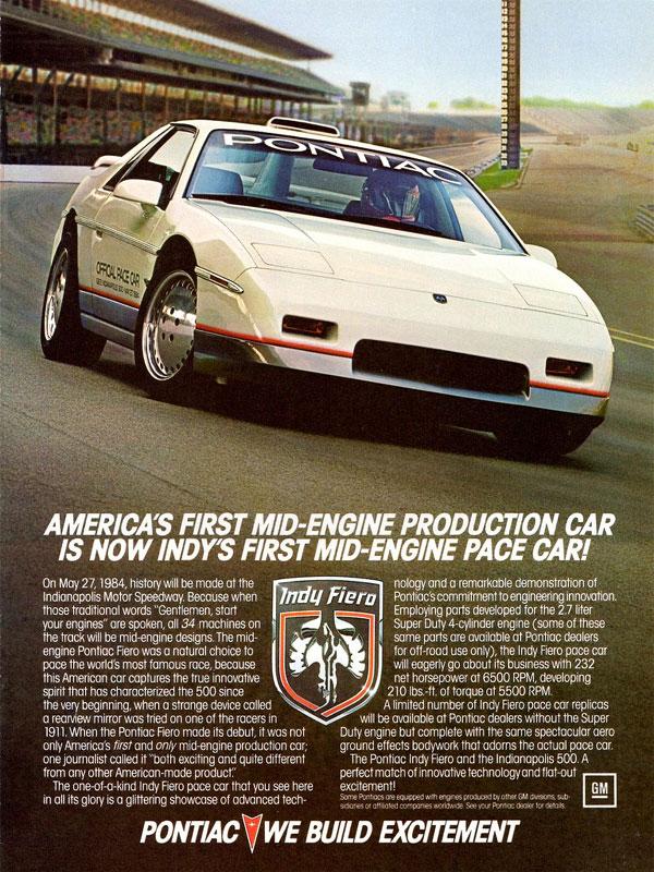 ポンティアック・フィエロ | Pontiac Fiero'84-88