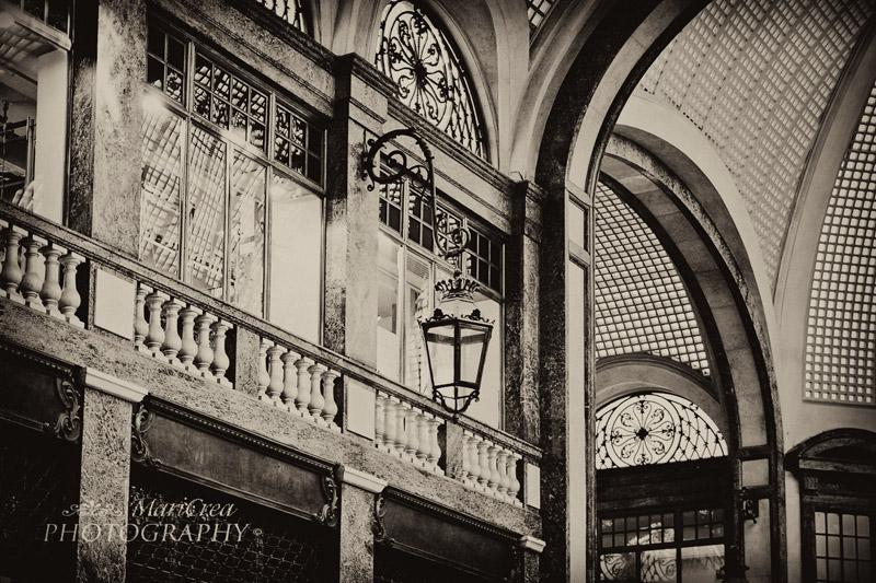 Torino- Galleria San Federico filtro lastra antica