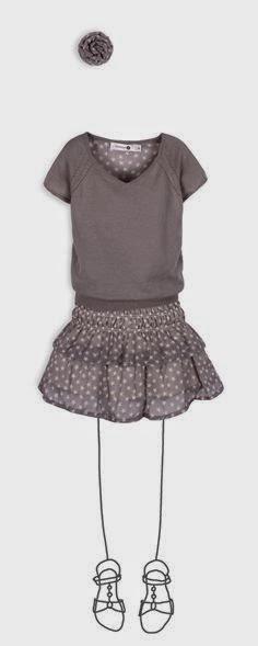 Troizenfants moda niña primavera verano 2014