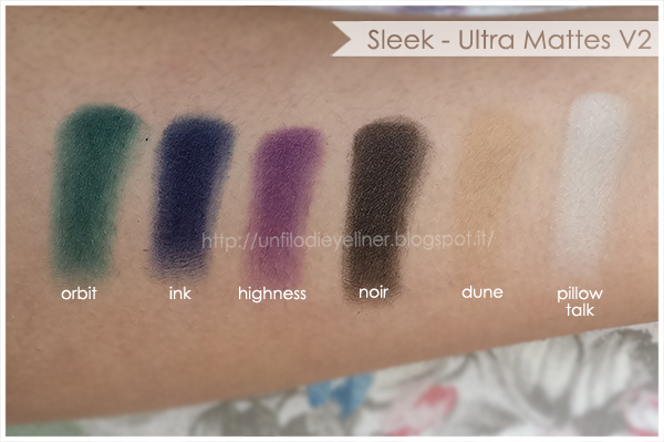 Swatch Sleek Ultra Mattes V2 Dark