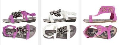 Sandalias color Fucsia o blanco