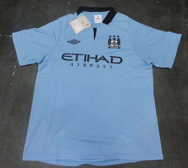 Jersey Manchester City Home 2012/2013