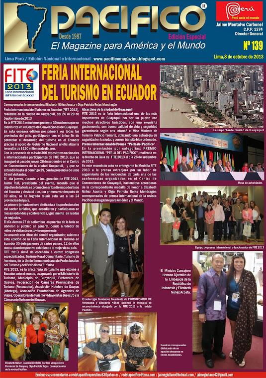 Edición Especial de la revista Pacífico Nº 139