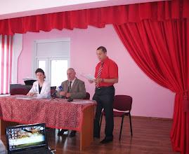 """Aspecte de la simpozionul judeţean """"Gh. Ruset-Roznovanu"""", 25.05.2013..."""