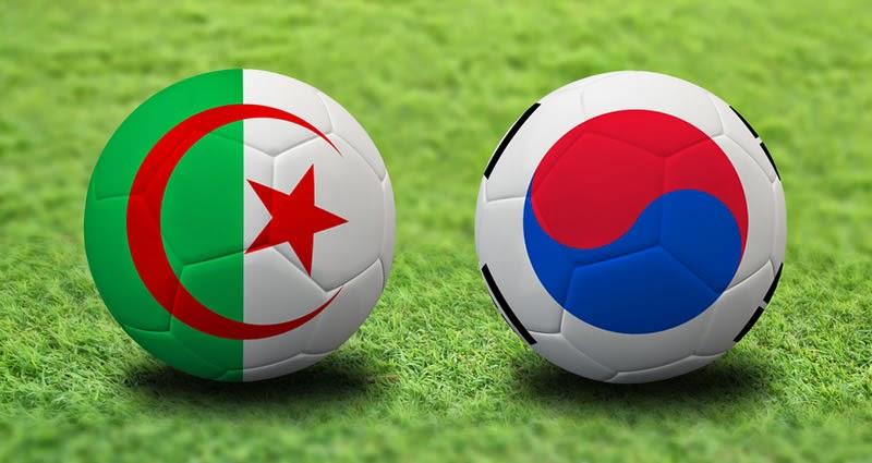 Corea del Sur 2 - 4 Argelia