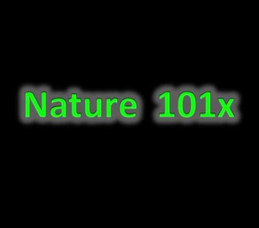 Nature 101x
