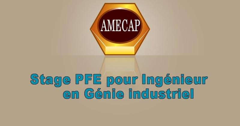 pfe 2014   stage pfe pour ing u00e9nieur en g u00e9nie industriel