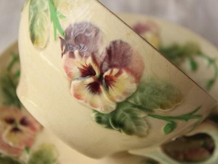 パンジーバルボティーヌカップ皿