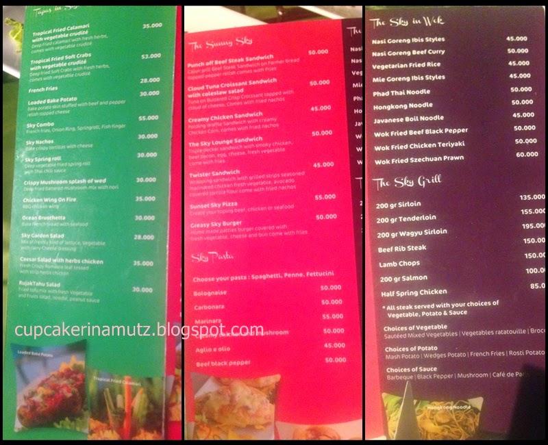Kuliner jogja sky bar ibis styles rina chabbymutz for Z kitchen jogja menu