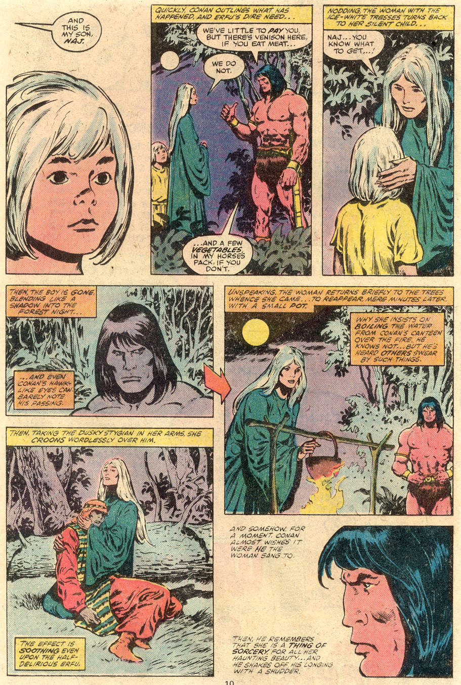 Conan the Barbarian (1970) Issue #113 #125 - English 7