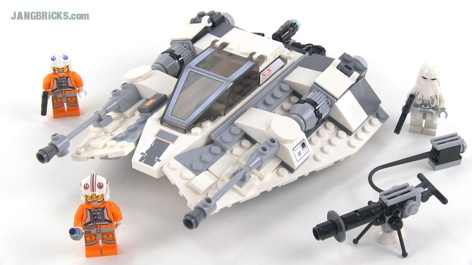 lego star wars 75049 snowspeeder 2014 review