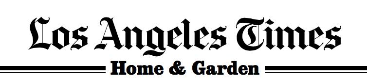 NEW PRESS: Cover of the LA Times Home Section -Flea Market ...