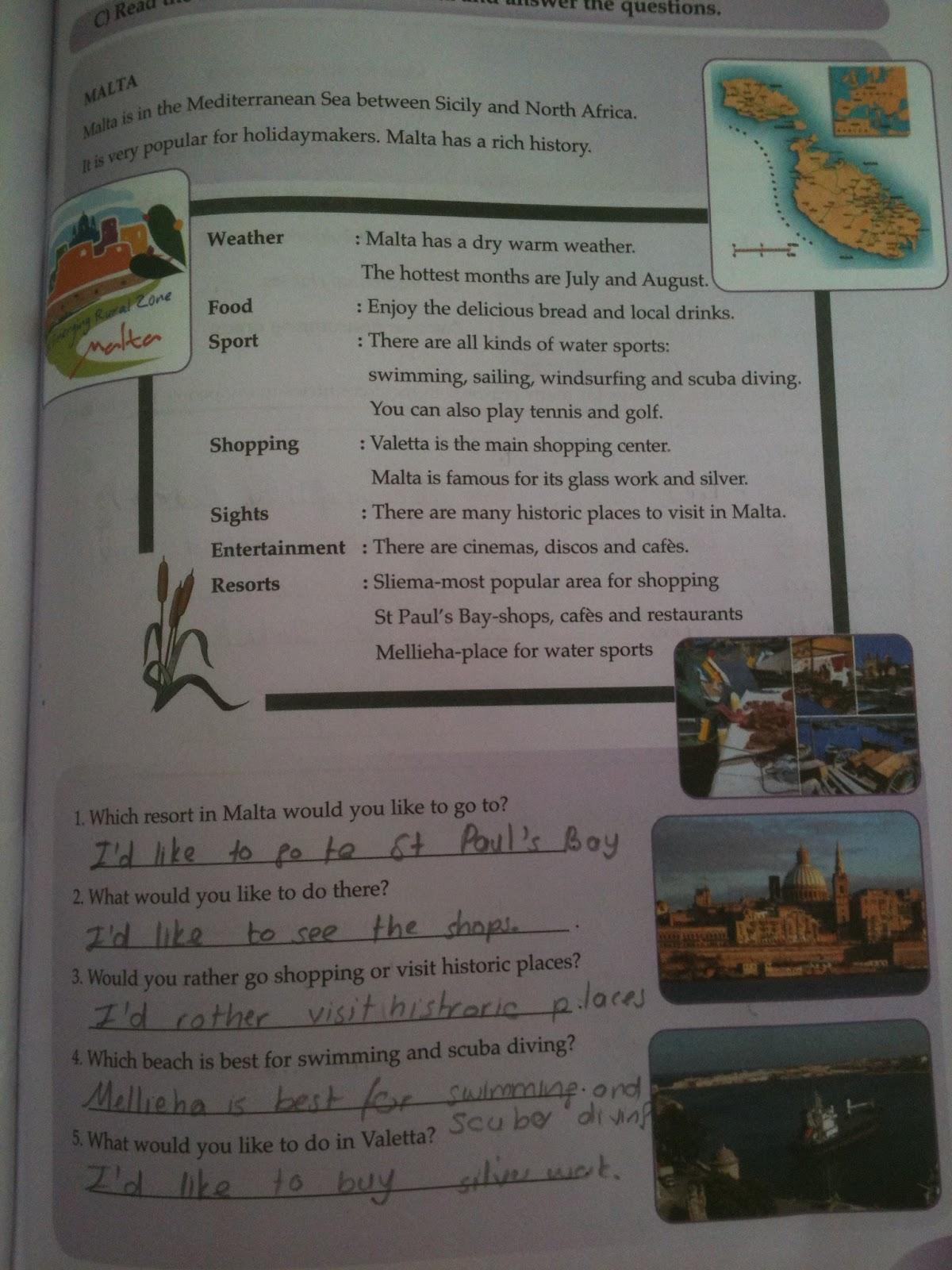 sinif ingilizce çalişma kitabi cevaplari sayfa 73 pasifik