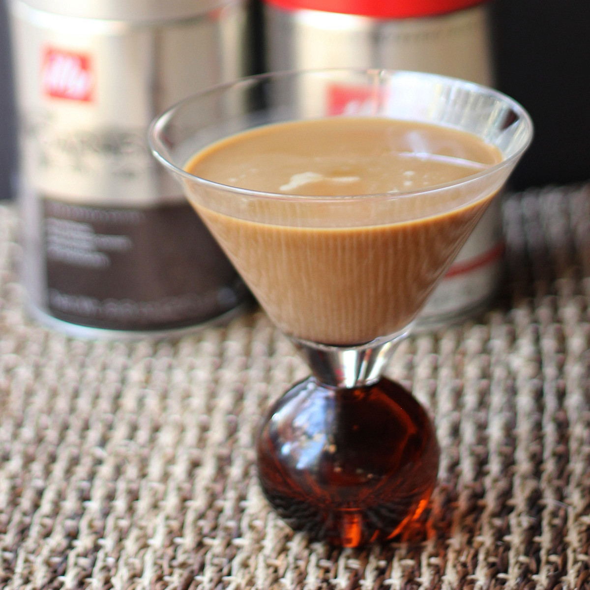 Coffee-Maple Cocktail