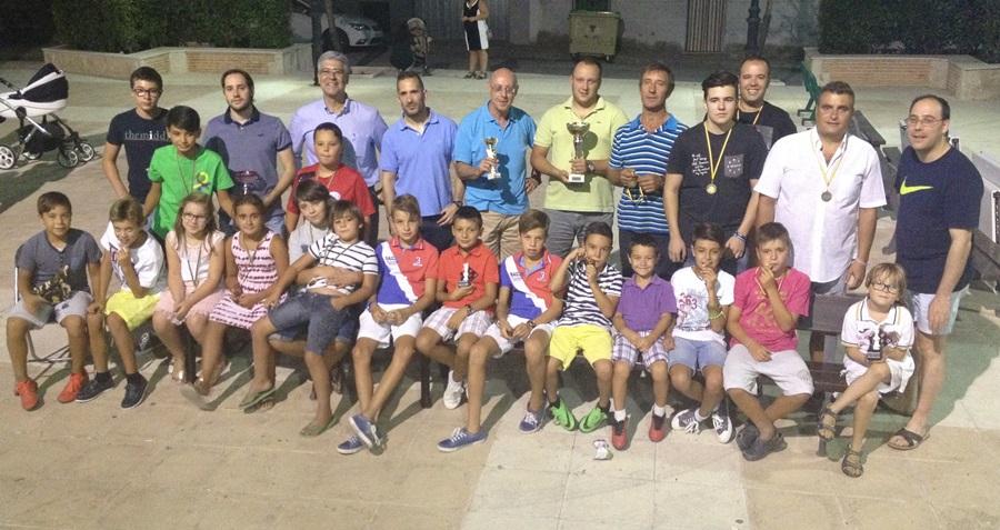 Éxito del Torneo de ajedrez celebrado en Huerta de Valdecarabanos