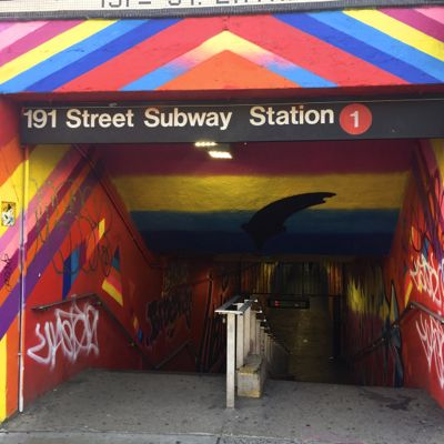 A Passage Through the 191st Street Station