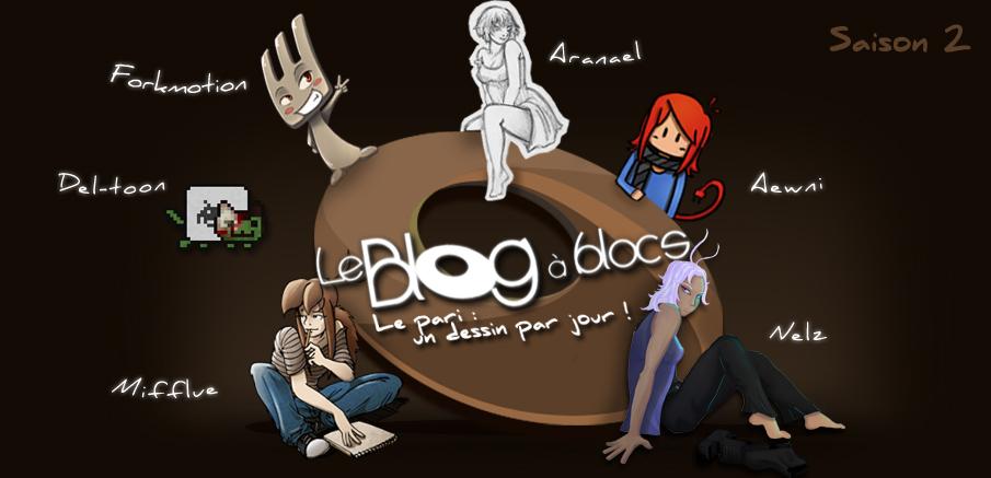 Le Blog à Blocs - Un dessin par jour !