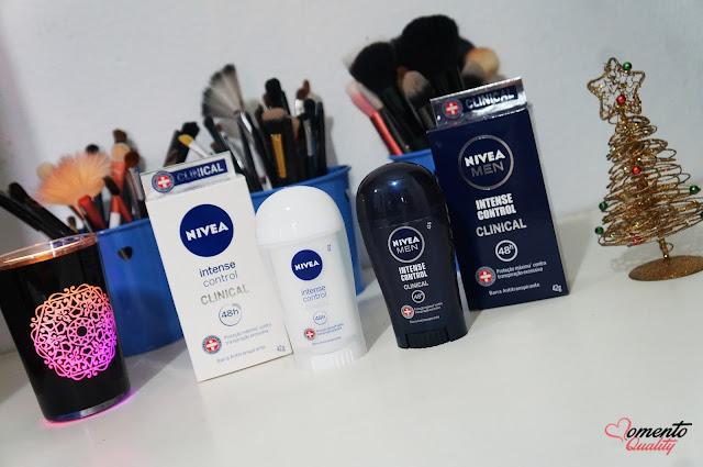 Desodorante Intense Control Clinical Nívea