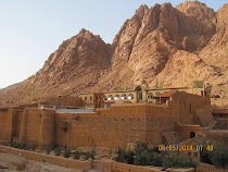 St. Catherine's Monastery at foot of Mt. Sinai, Sinai Peninsula, Egypt