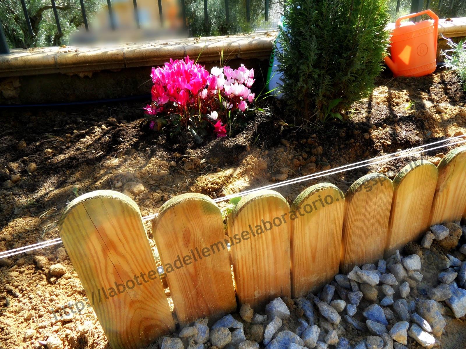 La bottega delle muse laboratorio il mio giardino - Sistemare il giardino ...