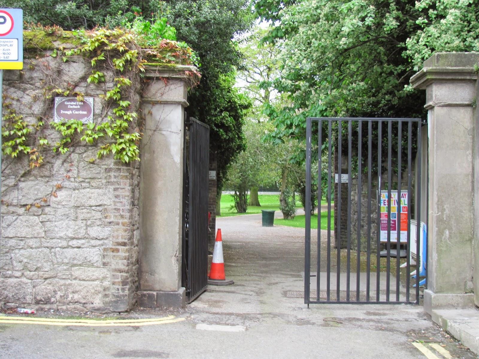 Iveagh Gardens Entrance