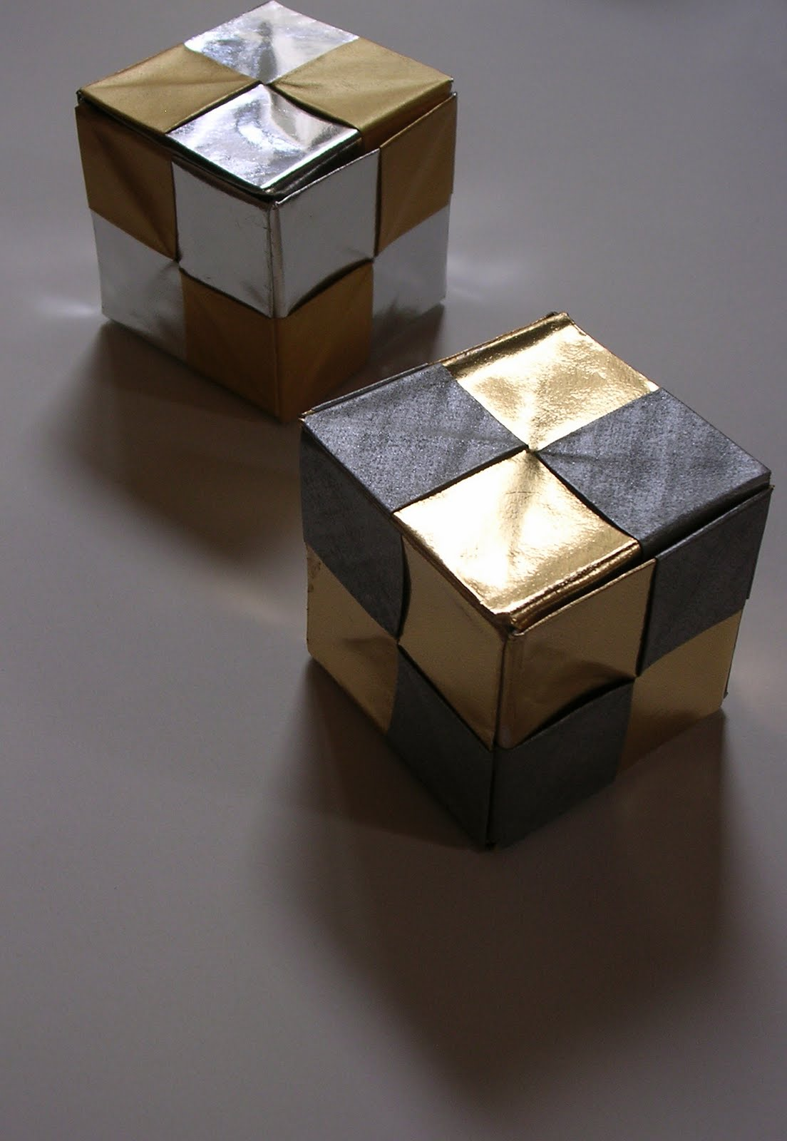 Dice Cube Box Kunihiko Kasahara Origami Omnibus Origami Constructions