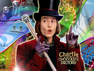 johnny depp woly wonka chocolate factory