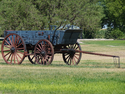 uncovered wagon