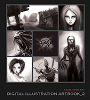 digital illustration artbook