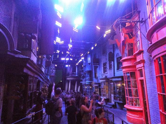 O Beco Diagonal - Visitando os Estúdios de Harry Potter em Londres